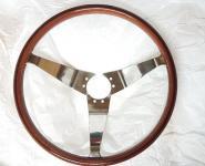 Echtholzlenkrad Opel GT neu, Mahagoni