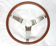 Echtholzlenkrad Opel GT neu, Nussbaum