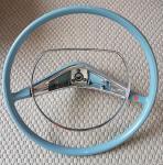 Lenkrad mit Hupenring Kap PL2,6 blau